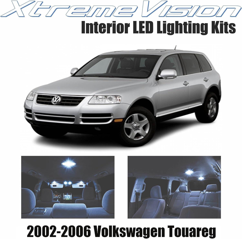 16-pc White LED Bulb Interior Kit For VW Touareg 7L T1 T2 02-10 Error Free Light