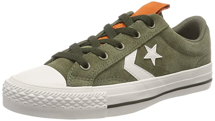 Converse Star Player Low Top Unisex Erwachsene Grün (Field Surplus)
