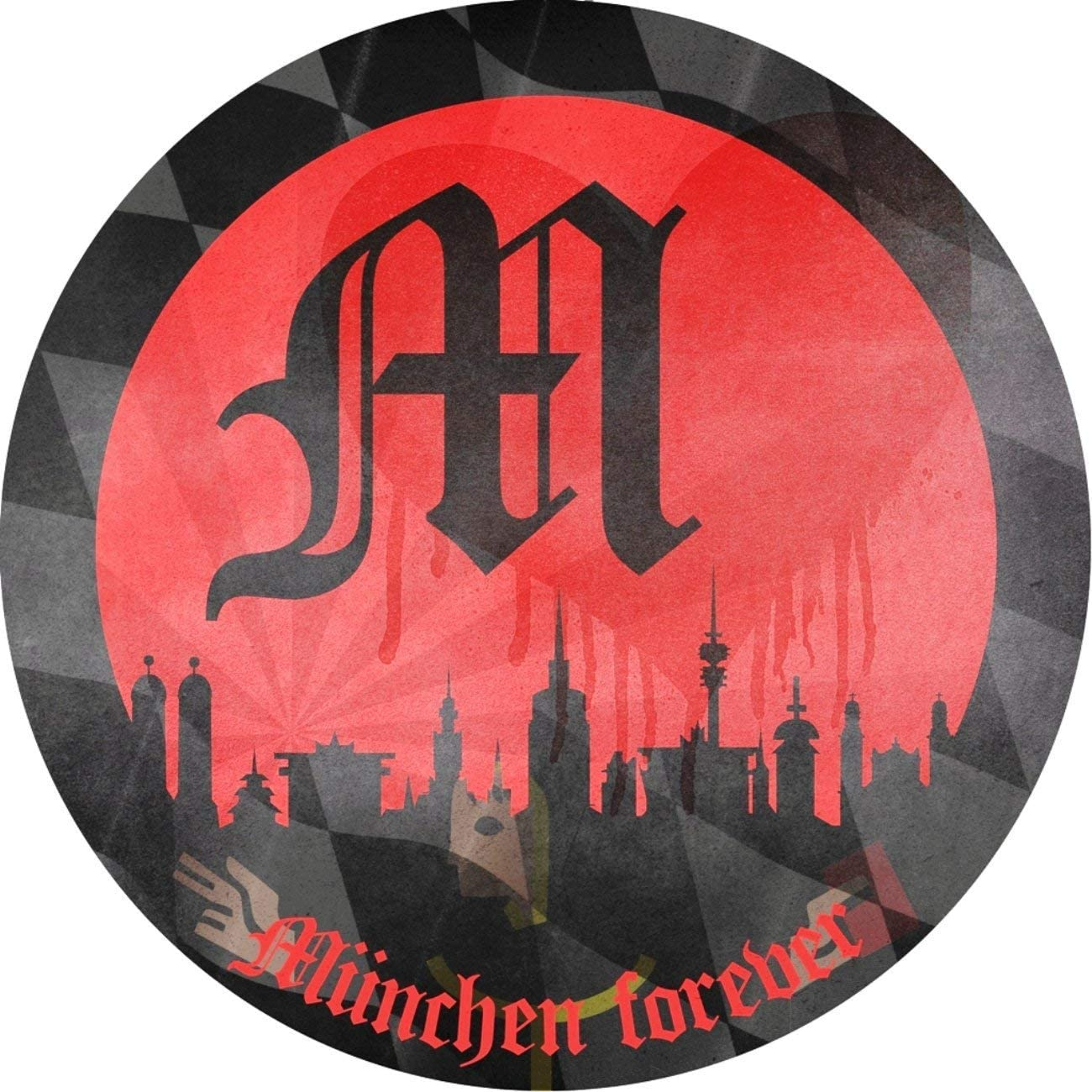 Basecap Sticker M/ünchen Forever FCB Pokalsieger Pokalsieg M/ütze Hut Cap Double Bayern M/ÜNCHEN kompatibel