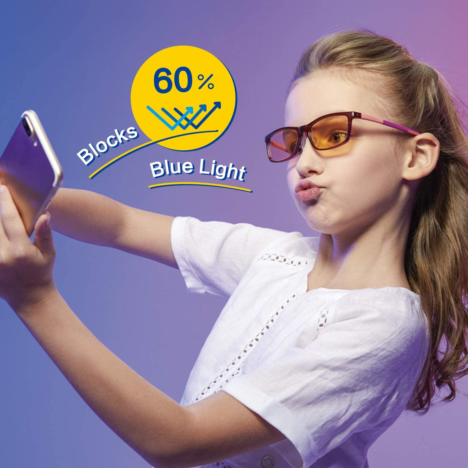 LUKI Kids Sunglasses TPEE+TPR Flexible Frame PC LENSES BY ZEISS for Boy Girls Children Age 0-12 UV Protection Anti Blue-ray