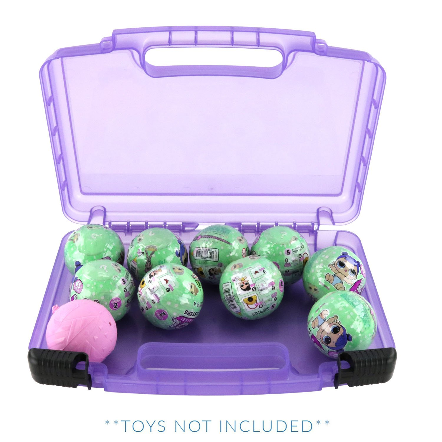 Life Made Better Toy Storage Carrying Case, Compatible With LOL Surprise Dolls. This Box Is Not Created By LOL Surprise!