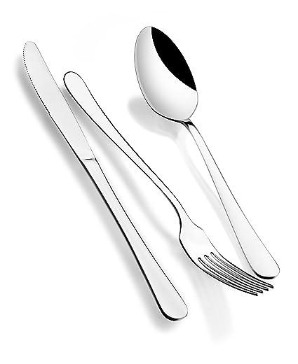 Monix Dinner - Set 24 piezas cubiertos de acero inox 18/c.