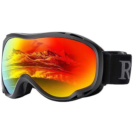 b856368e546 Amazon.com   Ski Goggles Women Red