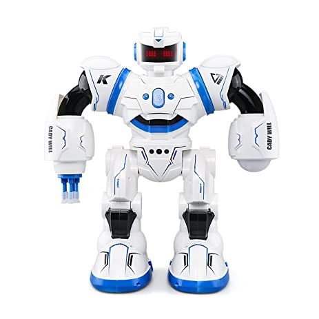 Amazon Com Jjrc R3 Remote Control Robot Toy For Kids Smart