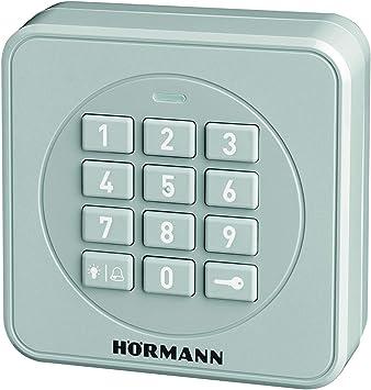 Hörmann 4511856 FCT3-1 BS 4511856-Teclado de código (868 MHz, para Control de hasta 3 Puertas y Teclado), Gris
