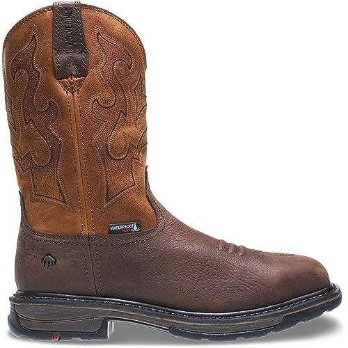 b61c8327745 Amazon.com: Wolverine Men's Lariat Waterproof Steel Toe Work Boot: Shoes