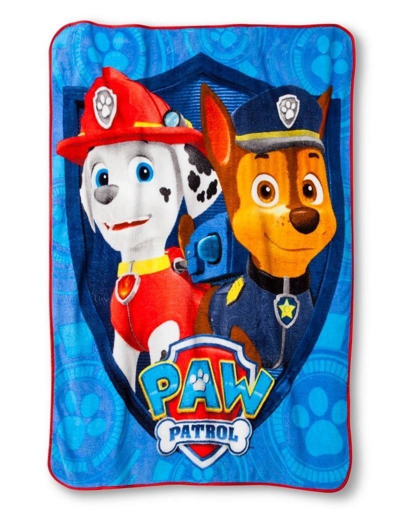 Paw Patrol Throw Blanket featuring Marshall and Chase - 117 cm x 152 cm Franco Manufacturing Co. Inc. SYNCHKG062820
