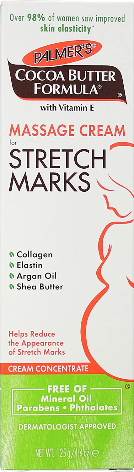 Palmers Cocoa Butter Massage Stretch Marks Cream 4.4oz (3 Pack)