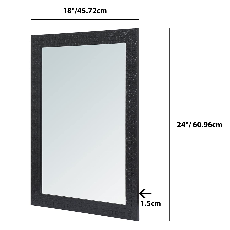 Buy 999Store Fiber Framed Decorative Wall Mirror or Bathroom Mirror ...