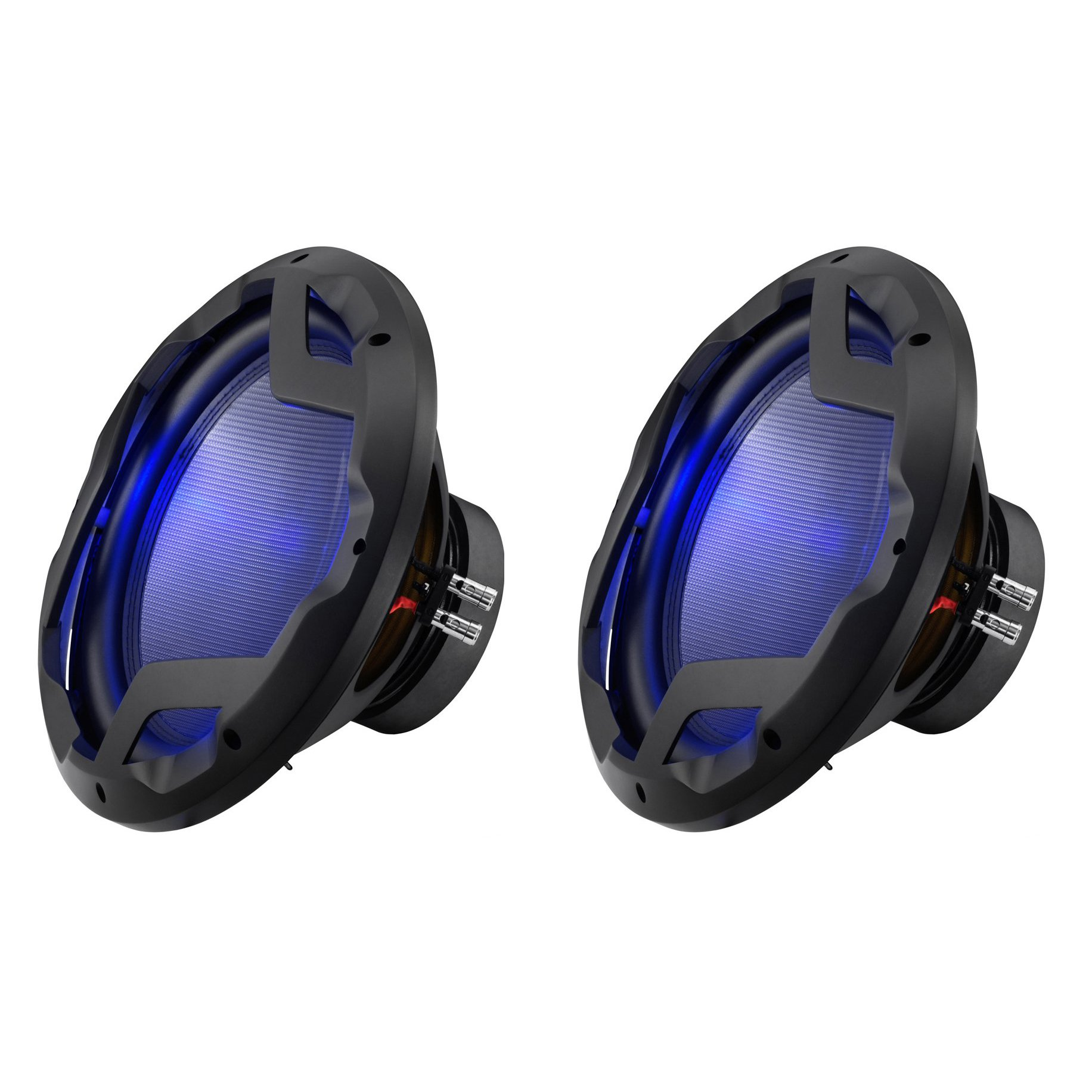 Boss Audio 12-Inch 1600-Watt Subwoofer with LED Illumination (2 Pack)