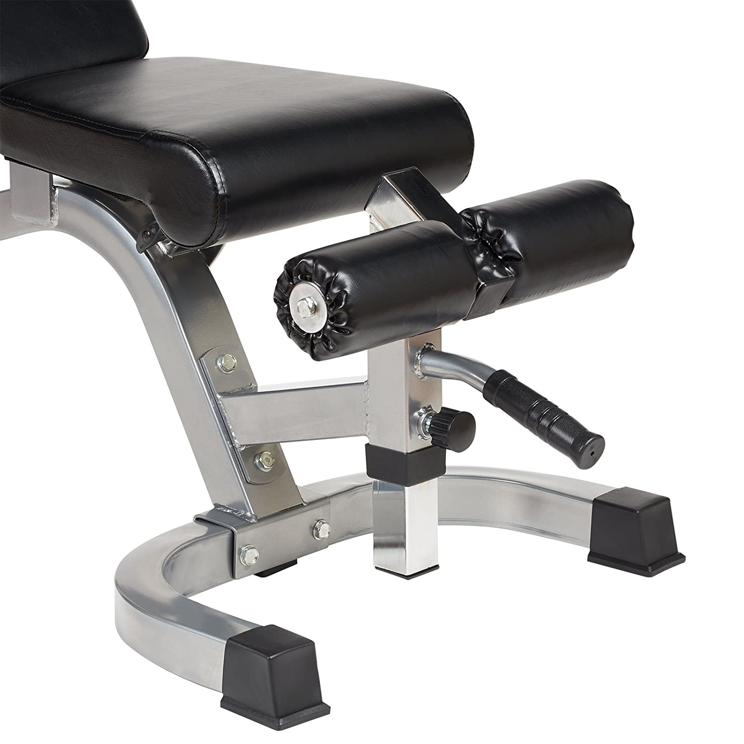 Mirafit Easy Move Fully Adjustable Weight Bench  Black Or