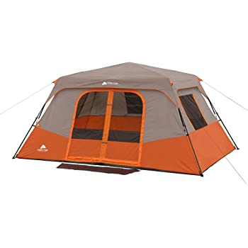 Amazon Com Ozark Trail 8 Person Instant Cabin Tent