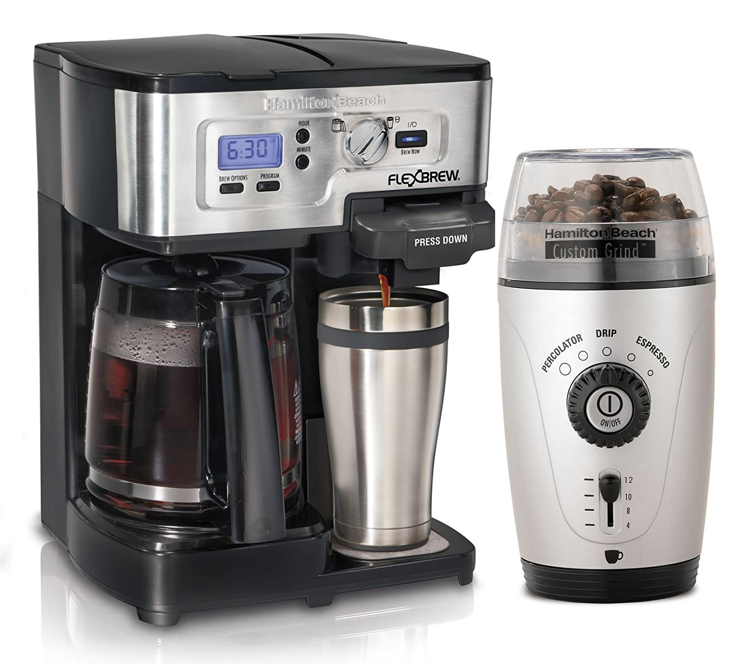 Coffee Maker With Grinder ~ Best coffee maker with grinder automatic and