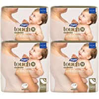 Drypers Touch Diapers, M, 4 packs x 64 Count