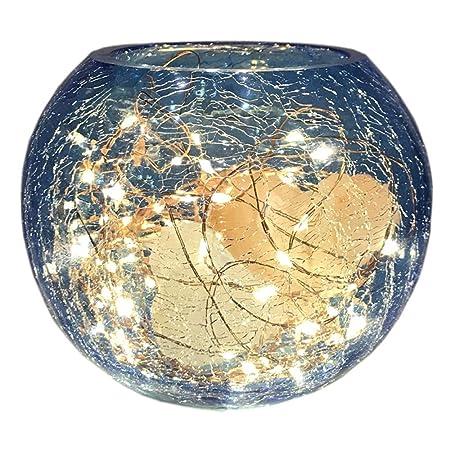 Creatividad moderna cristal de sal del Himalaya lámpara de hielo ...