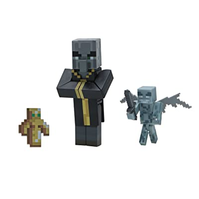 Minecraft Evoker Figure Pack: Toys & Games