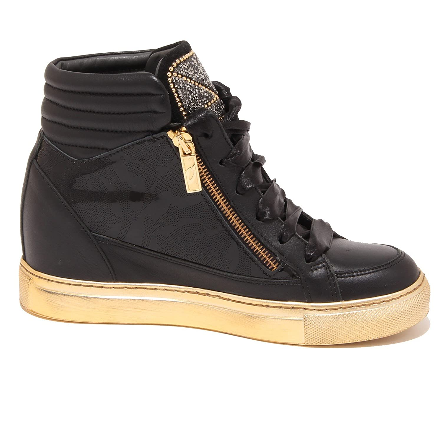 0853P Scarpa Donna GUARDIANI Sport Empire Nero Strass Shoe Woman   Amazon.fr  Chaussures et Sacs 9eba04fa96f