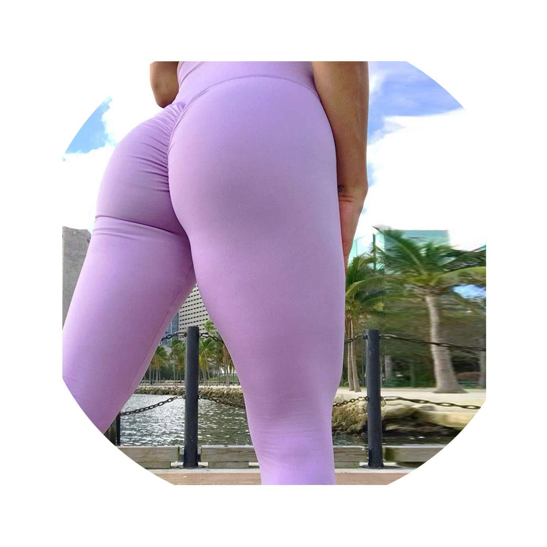 Amazon.com: Gym Leggings Sport Women Fitness Yoga Pants High ...