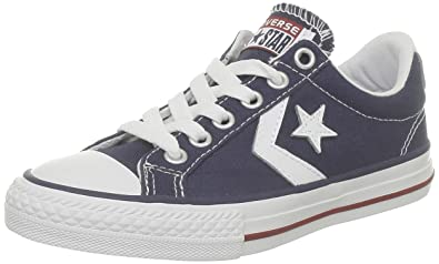 0f14cd053b78 CONVERSE Unisex-Child Star Player Core Canv Ox Trainers 289161-52-10 Marine