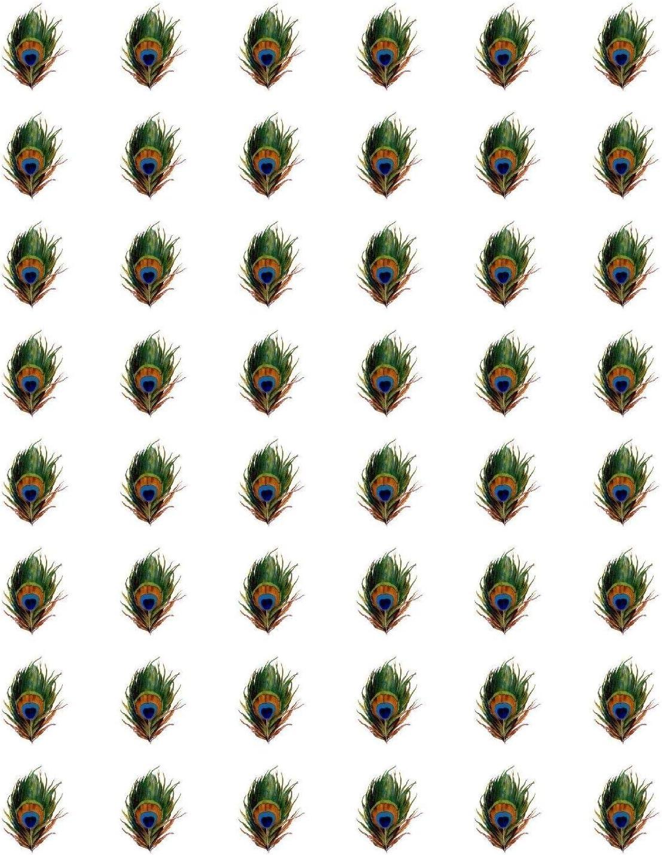 """48 Flower Basket ! ENVELOPE SEALS LABELS STICKERS 1.2/"""" ROUND"""
