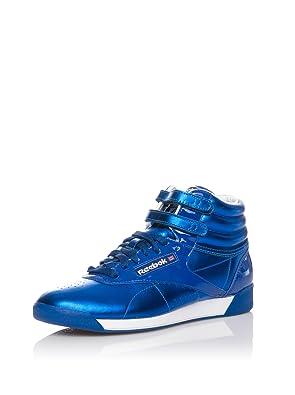 3483f549d Reebok Zapatillas Abotinadas Freestyle Hi INT Azul Eléctrico EU 39 (US  8.5)  Amazon.es  Zapatos y complementos