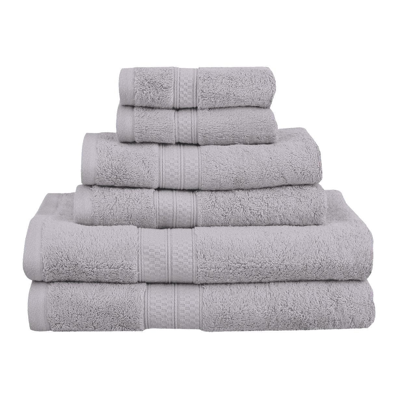 c063279cd13e Amazon.com  Superior 6-Piece Towel Set