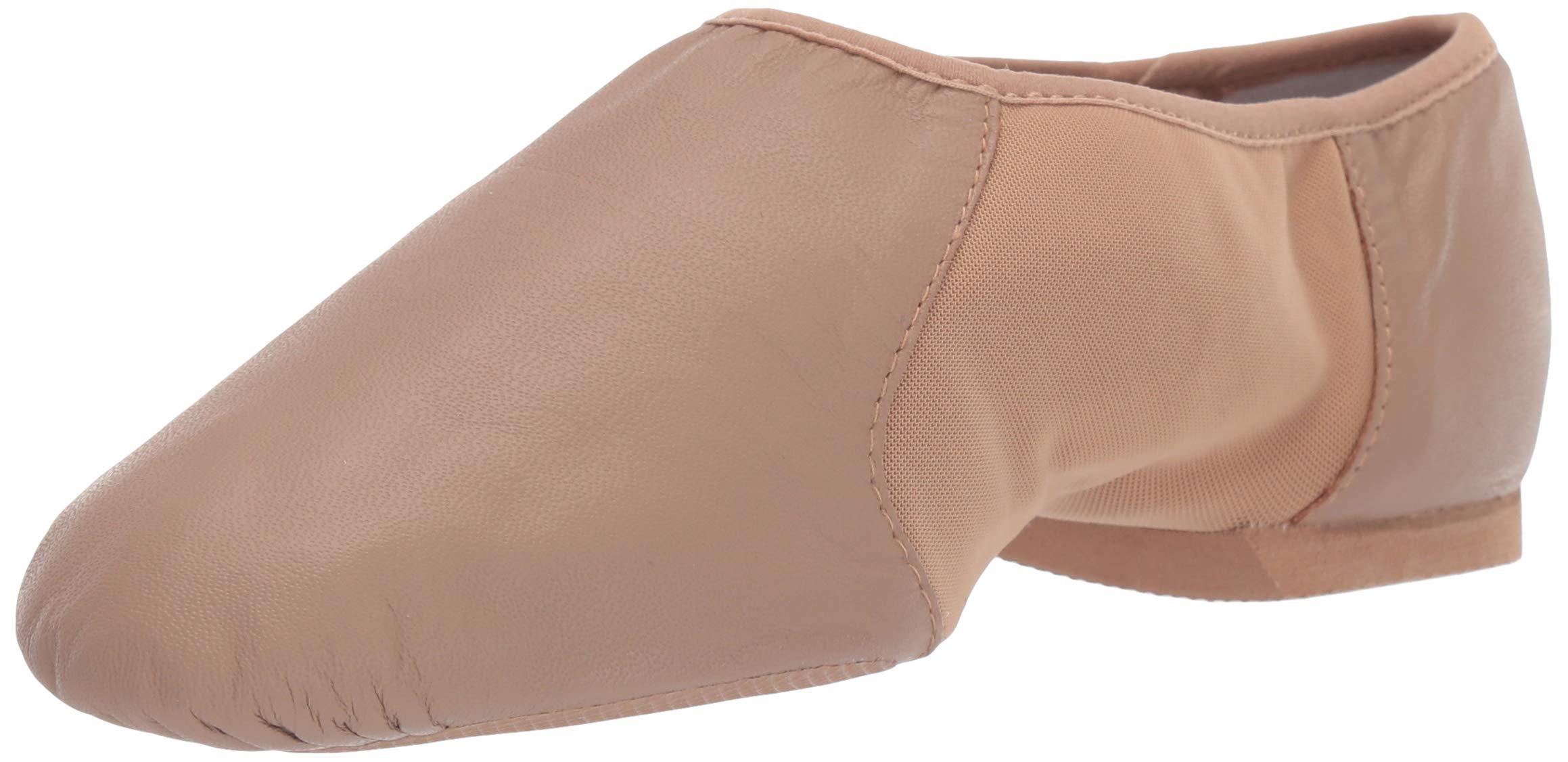 Bloch Neo-Flex Jazz Shoe S0495L, Tan, 8 M US by Bloch