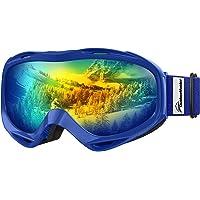 OutdoorMaster OTG skidglasögon – över glasögon skid-/snowboardglasögon för män, kvinnor och ungdomar – 100 % UV-skydd