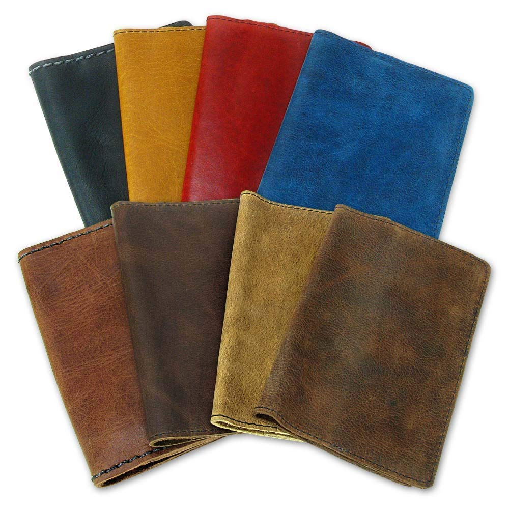 Italian Leather Moleskine Notebook Cover | Buttery Soft -Elegant - Professional | 8 Colors Individually hand-crafted in Santa Fe, NM