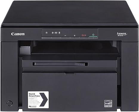 Impresora láser multifunción monocromo Canon i-Sensys MF3010 negra ...