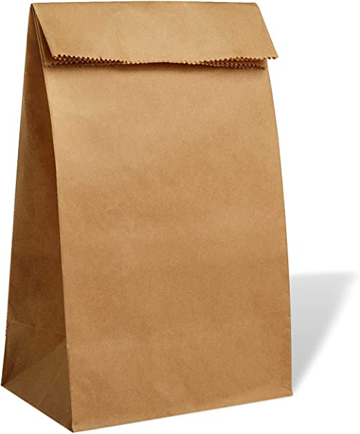 Amazon.com: PAVILIA Kraft Paper Lunch Bags 30-pc: Lunch Boxes: Kitchen &  Dining