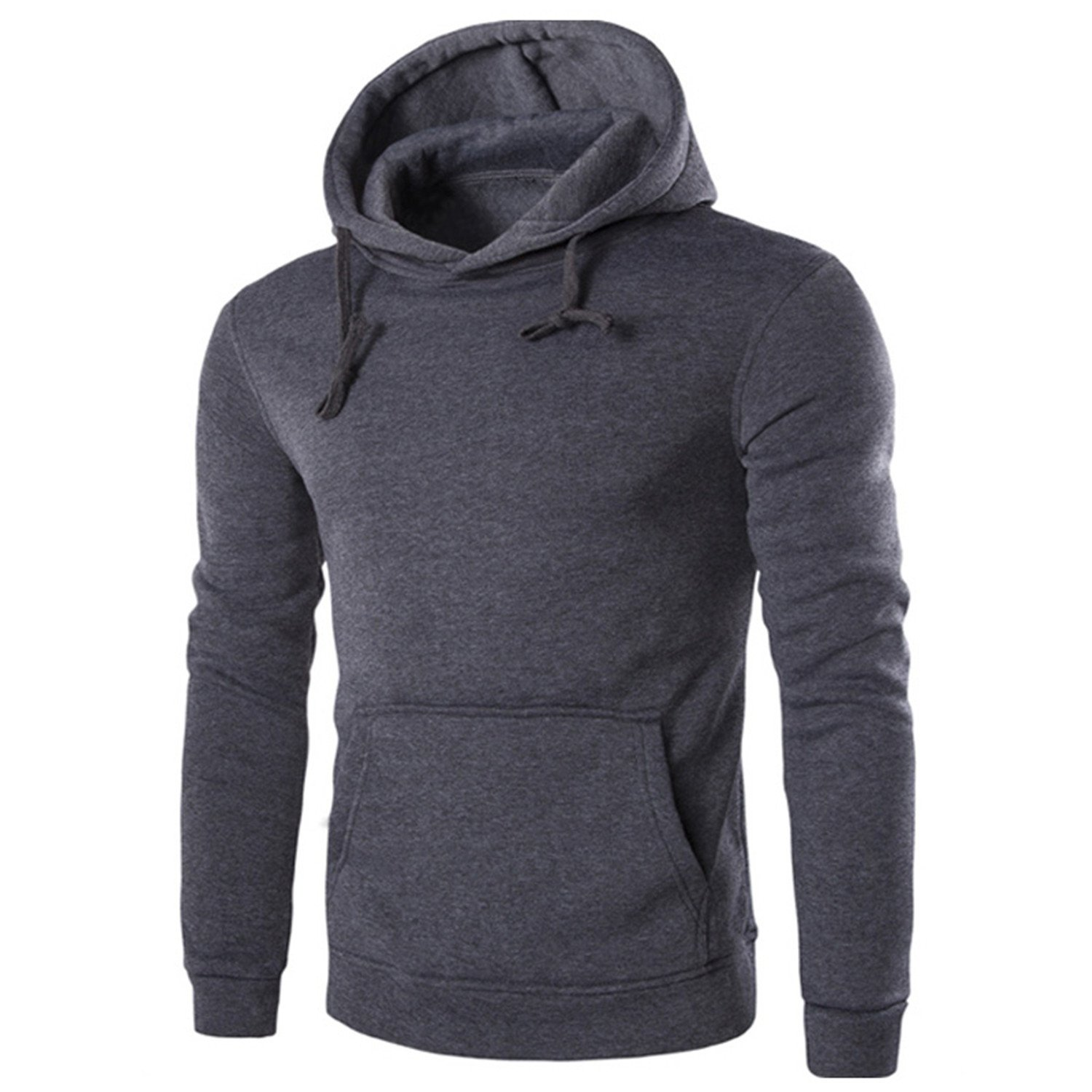 Joshua Sanchez Men Casual Sweatshirt 2017 New Style Urban Fashion Pocket Hoodie at Amazon Mens Clothing store: