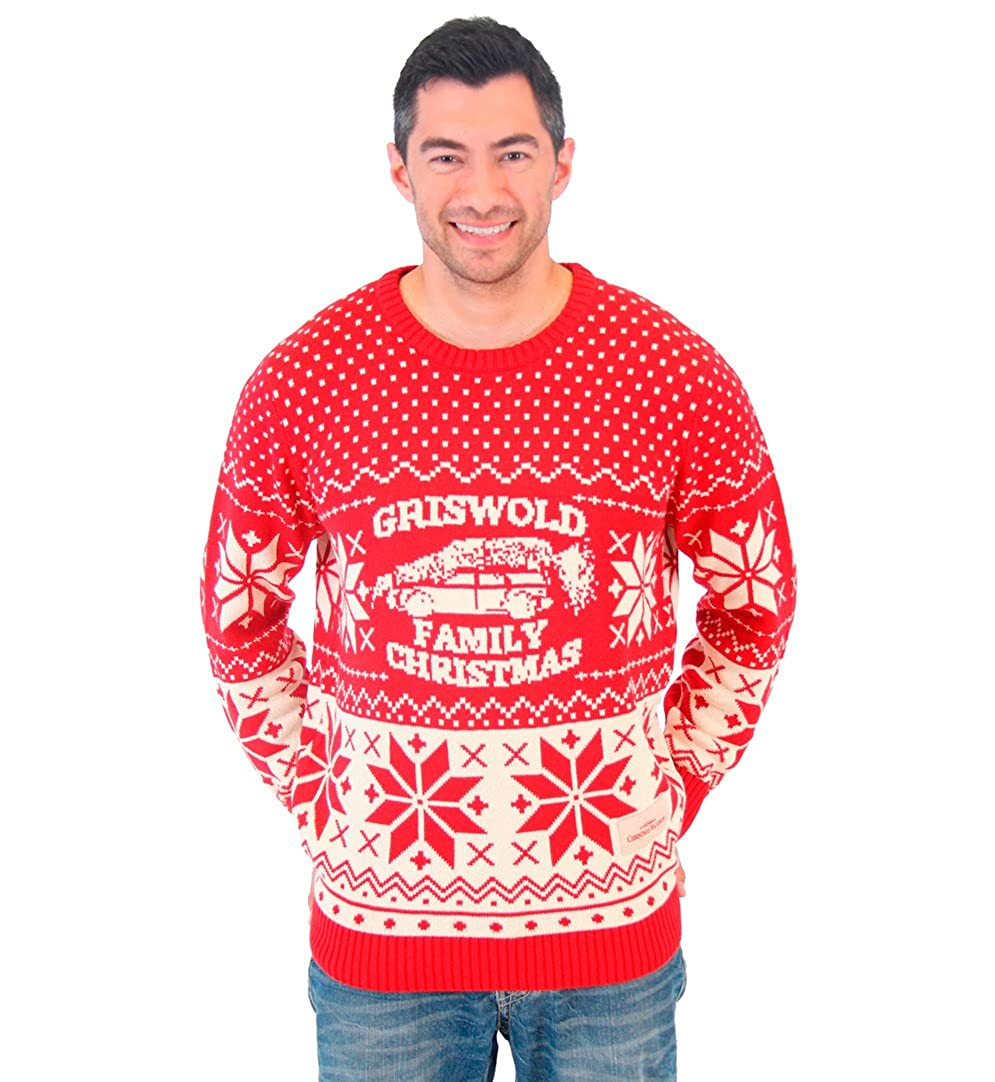 Ugly Christmas Family Pictures.National Lampoon Griswold Family Christmas Ugly Sweater