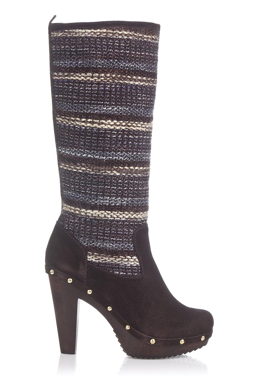 Laura Moretti Donna Swedish Nailed Boot Stivali: Amazon.it: Scarpe e borse