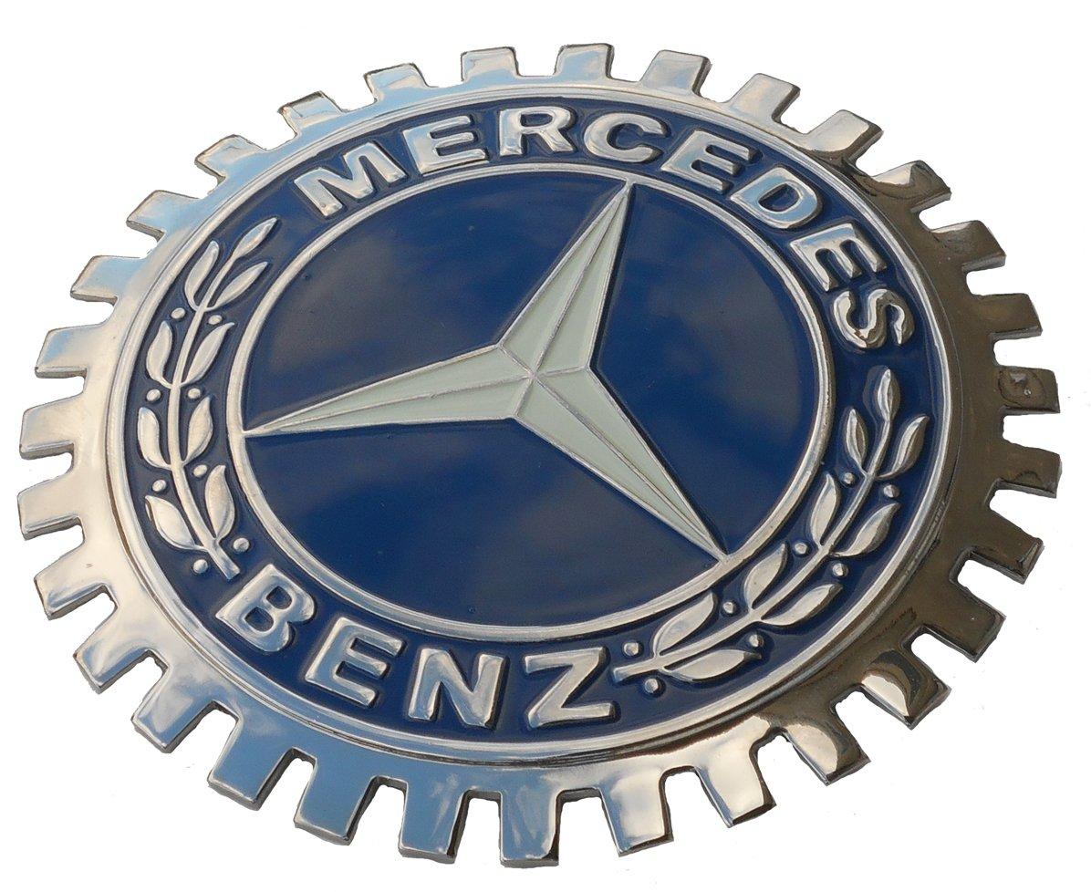 Mercedes car Grille Badge