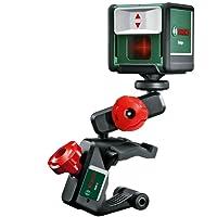 Bosch Laser ligne en croix Quigo 3 portée 10 mètres avec pince de fixation MM2 0603663500