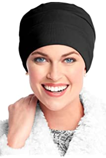 27180c43592 Headcovers Unlimited Three Seam Cotton Sleep Cap-Caps for Women with Chemo  Cancer Hair Loss