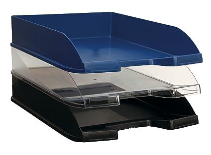 Bandeja Apilable Sobremesa Poliestireno Folio A4 256 x 348 x 66 mm Transparente