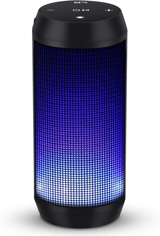 soundlogic light up rechargeable wireless bluetooth speaker manual