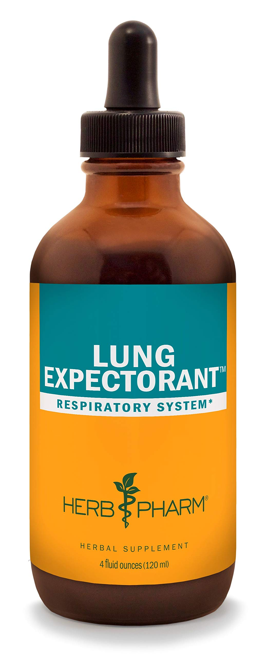 Herb Pharm Lung Expectorant Liquid Herbal Formula to Support Respiratory Immune Response - 4 Ounce