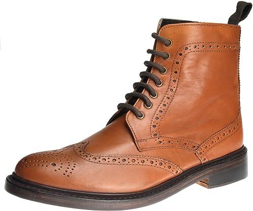 Frank James Benchgrade Mens All Leather