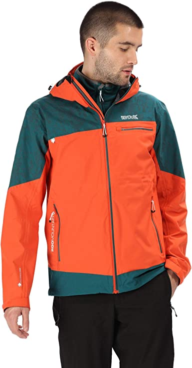 Regatta Mens Garforth Waterproof Insulated Reflective Jacket