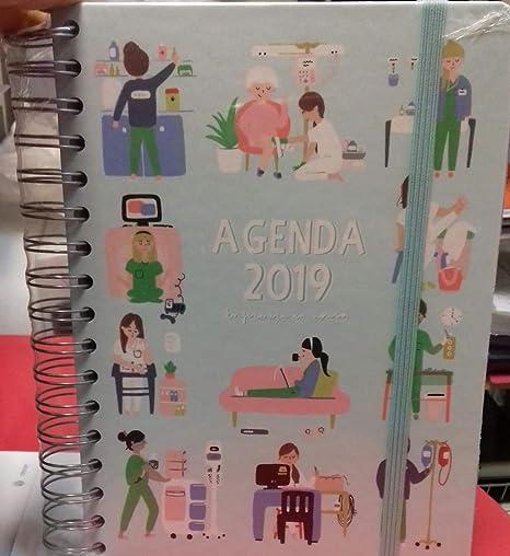 Agenda 2019 enfermera apurada: Amazon.es: Oficina y papelería