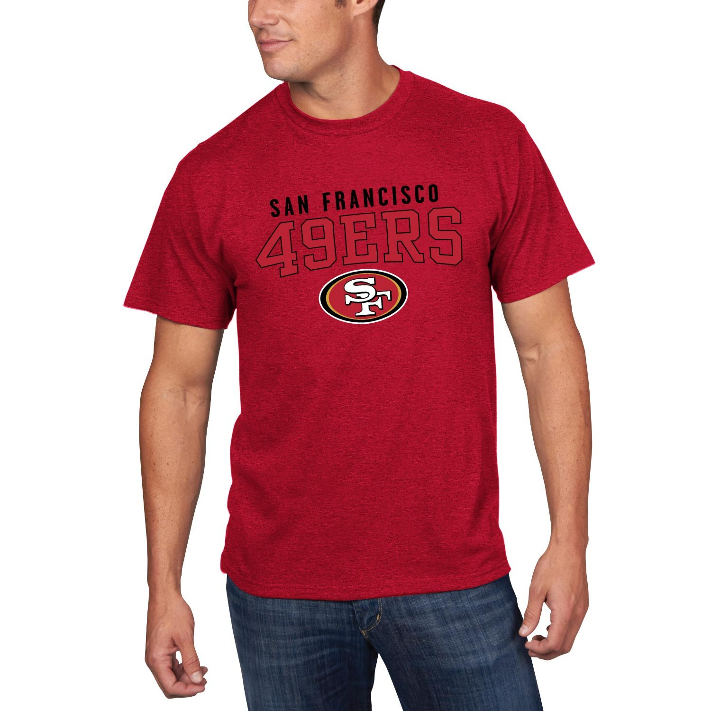 San Francisco 49ers Majestic NFL Red Zone Men's Short Sleeve Premium T-Shirt