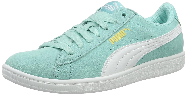 Puma Vikky, Zapatillas para Mujer 41 EU|Azul (Aruba Blue-puma White 14)