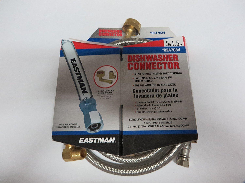 Dishwasher Connector - 60'' Steel Flex Series
