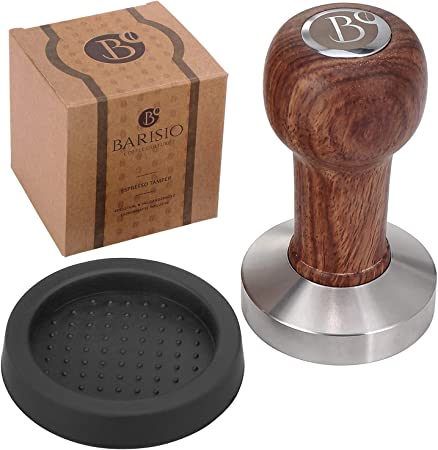 praktischer Palisander-Griff Kaffee-Tamper-Espresso-Pulver Kaffee-Tamper 51mm