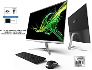 "ACER Aspire 27"" FHD Premium All-in-One Computer Bundle Woov Accessory 