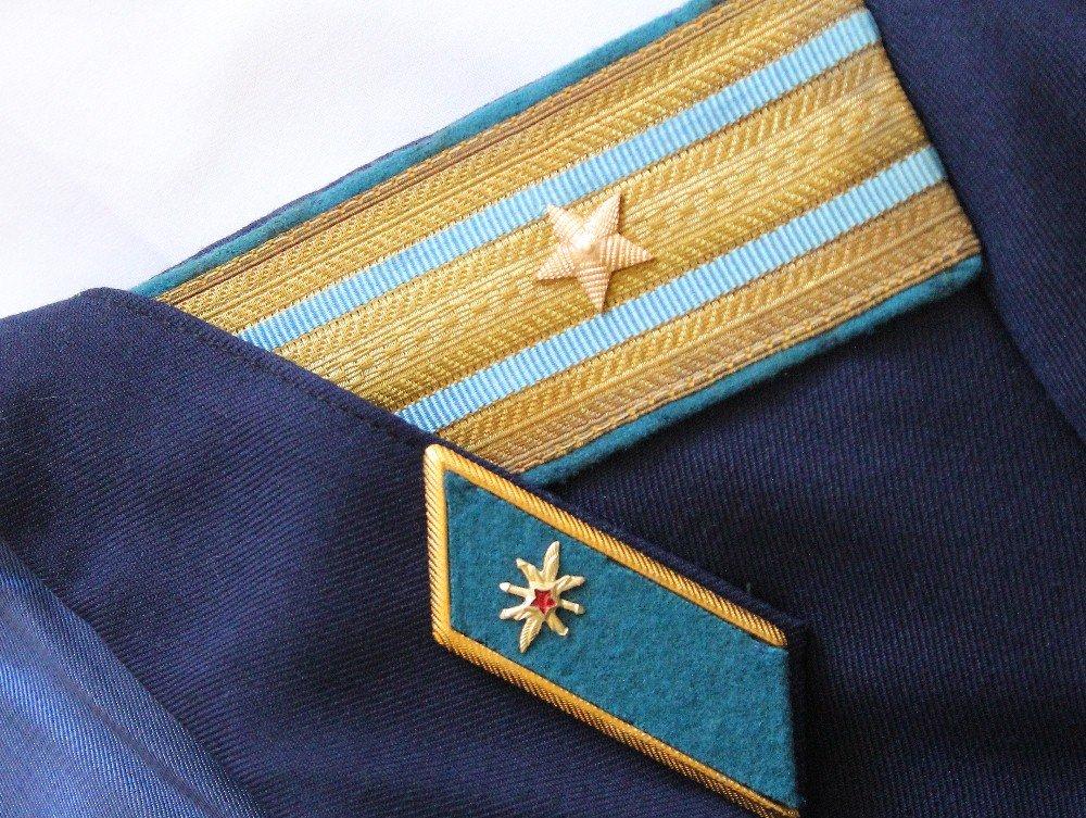 Soviet USSR ORIGINAL Air Force Communication Major Parade Uniform 1988 Rare by Soviet USSR Army Navy Air Force KGB Police (Image #3)