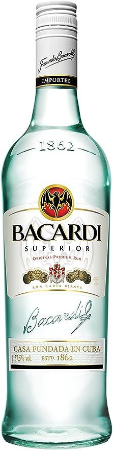 Bacardi - Ron 70 cl: Amazon.es: Alimentación y bebidas